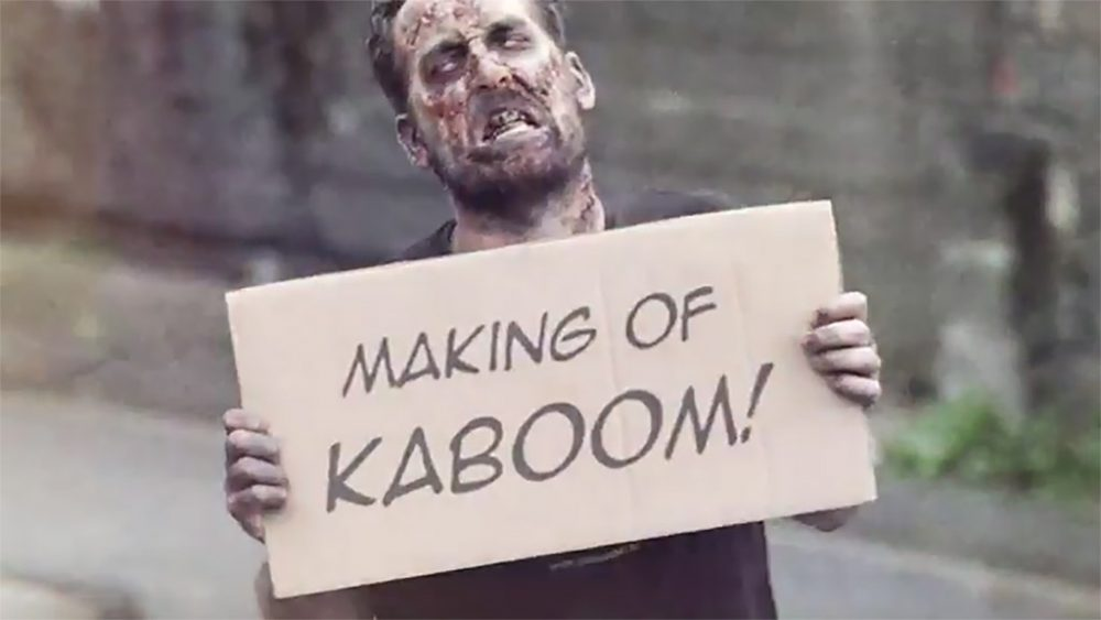 "MAKING OF KABOOM ""WALKING DEAD"""